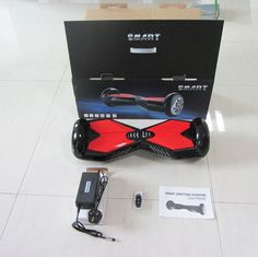 NEW Smart Mini Self Balancing 2 Wheel Electric Scooter Unicycle Bluetooth Key #Unbranded