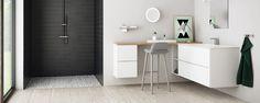 L-mallinen kylpyhuonekaluste (sopisi vessalyaoutiin)