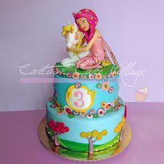 Cartoon cake - Cartoon Cake Village