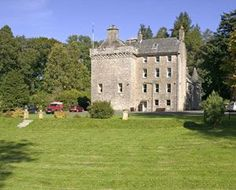 Culcreuch Castle, Scotland. Imagine it.... a romantic Castle wedding, in an idyllic Scottish landscape; couples exchanging vows, followed by a wedding reception and a Scottish ceilidh.