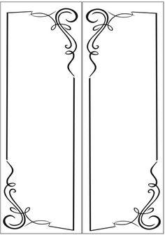 Пескоструйный рисунок Рамка №234