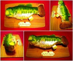 Big mouth Billy bass cake and video https://youtu.be/Yp0I5dTm4YY