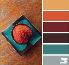 Color Spice by Design Seeds | Color & combination | color palette | color scheme