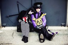 Purple Guy and Puppet - FNAF cosplay by AlicexLiddell on DeviantArt