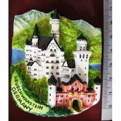 Neuschwanstein Castle Germany Europe High Quality Resin 3D fridge Refrigerator Thai Magnet Hand Made Craft        . Free Shipping Check Price >> http://www.amazon.com/Neuschwanstein-Refrigerator-Thai-Magnet-Craft/dp/B009ZVRDQO