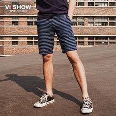 Find More Shorts Information about Viishow America Style Basketball Men Shorts Navy Striped Gym Clothing Casual Sport Summer Button Male Business Shorts  KD77162,High Quality shorts bow,China shorts high Suppliers, Cheap shorts net from Viishow Exclusive Store on Aliexpress.com