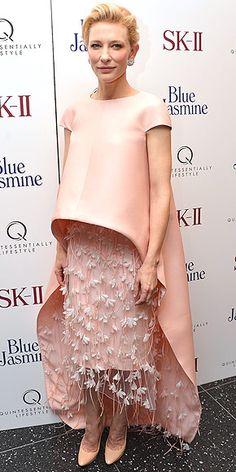 CATE BLANCHETT photo   Cate Blanchett   Balenciaga Edition jellyfish tentacle skirt - fierce