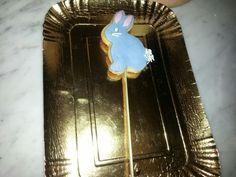 Coniglio biscotto con glassa