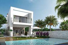 Benijofar: Schicke moderne Villen mit herrlicher Aussicht von den grossen Dachterrassen  Details zum #Immobilienangebot unter https://www.immobilienanzeigen24.com/spanien/comunidad-valenciana/03178-benijofar/Villa-kaufen/20028:61191342:0:mr2.html  #Immobilien #Immobilienportal #Benijofar #Haus #Villa #Spanien