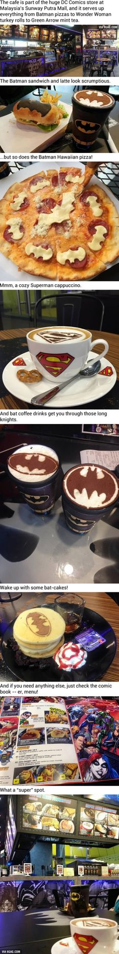This Batman Cafe Is Your New Late-'Knight' Hangout OMG I have to go here!!!