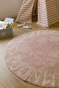 Round ABC Rug  - The Project Nursery Shop