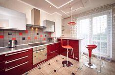 Дизайн кухни с барной стойкой: 60 современных фото в интерьере -4