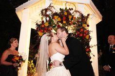 Garden Wedding Venue | Gazebo Decor | Gambill Photography