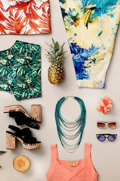 Summer comes with a tropical Americana tinge. | Read more at H&M Magazine