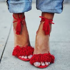 Fringed Sandals | sheerluxe.com