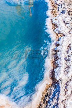 Chott el Djerid, salt lake in Tunisia photo