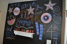 Happy 4th Chalkboard
