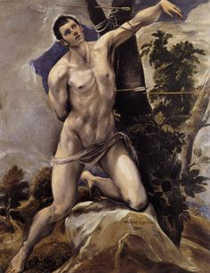 St. Sebastian - El Greco