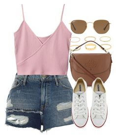 """Sin título #13164"" by vany-alvarado ❤ liked on Polyvore featuring River Island, Mulberry, Converse and Ray-Ban"