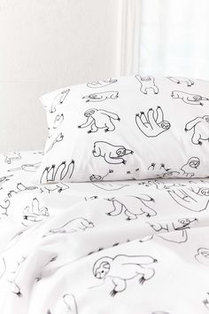 Slide View: 3: Sloths Sheet Set