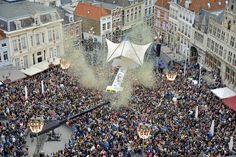 Sterren Muziekfeest op het Plein in Groningen NL