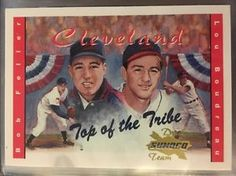 2001 Sunoco/Coca-Cola Top Of The Tribe Feller/Boudreau. Near Mint. Combined S&H.