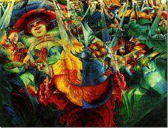 Umberto Boccioni_La Risata (Le Rire)_1912_ New York_Museum of Modern Art