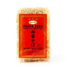 Chuka Soba Japanese Noodles: Buy Chuka Soba Japanese Noodles Online, Read Reviews at igourmet.com Soba Noodles, Pasta Noodles, Traditional Ramen, Japanese Noodles, Kitchens, Macaroni
