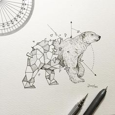 Geometric Beasts | Polar Bear                                                                                                                                                      More