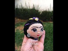 Como bordar ojos para muñeca amigurumi By Petus - YouTube