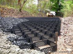 Soil Stabilization Mats for slopes, ditches, and roads