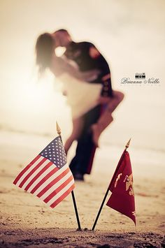 Photo from Military Moments collection by Brianna Noelle Photography-- Such a pretty photo Usmc Love, Marine Love, Military Love, Marine Flag, Military Couple Photography, Engagement Photography, Maternity Photography, Photography Poses, Stunning Photography