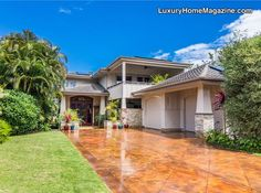 Substantial residence of timeless quality in Hawaii #luxury #homesforsale