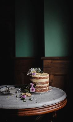 lemon layer cake from afar