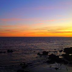 Sunset at Malibu Beach  #Malibu #Beach #sunset