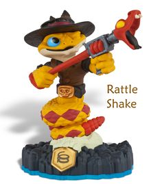 Skylanders Swap Force Rattle Shake