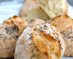 Recette Pain sans pétrissage ou baguette magique (facile, rapide) No Knead Bread, Sourdough Bread, 20 Min, Beignets, Baked Potato, Sweet Recipes, Deserts, Muffin, Homemade