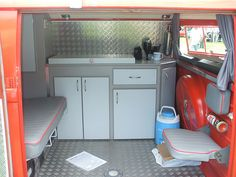 VW Van Interior