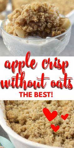 apple crisp recipe with oats easy ~ apple crisp . apple crisp recipe with oats . apple crisp without oats . apple crisp recipe with oats easy . Apple Crisp With Oatmeal, Apple Crisp Without Oats, Apple Crisp Pie, Apple Crisp Topping, Vegan Apple Crisp, Caramel Apple Crisp, Gluten Free Apple Crisp, Apple Crisp Easy, Best Apple Crisp Recipe