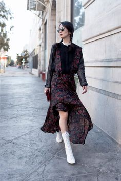 #victorianstyle #shopbop #shopstyle #helenma #flowydress