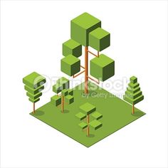 Search for Stock Photos of Isometric Trees on Thinkstock