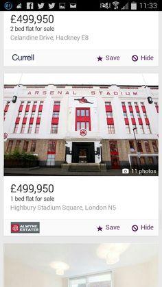 Highbury flats