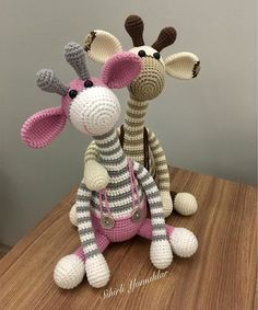44 Awesome Crochet Amigurumi Patterns For You Kids for 2019 Part amigurumi for beginners; amigurumi for kids; Crochet Vest Pattern, Crochet Motifs, Crochet Animal Patterns, Stuffed Animal Patterns, Crochet Patterns Amigurumi, Amigurumi Doll, Giraffe Crochet, Crochet Animals, Knitted Dolls