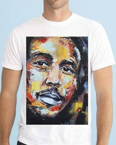 Bob Marley, Crazy Shirts, T Shirt, Take That, The Incredibles, Painting, Instagram Posts, Unique, Mens Tops
