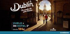 Ofertas en www.viajesviaverde.com: Dublín, un soplo de aire fresco