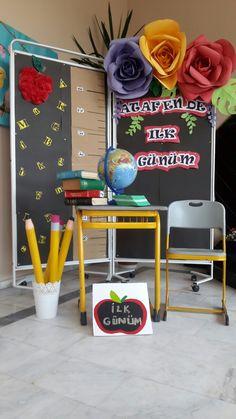 Board Ideas, Bulletin Board, Chair, Decoration, School, Home Decor, Decor, Bulletin Boards, Decorating