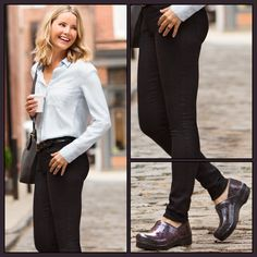10698e94214 Check out the Professional  Lightning Patent by  Dansko for a classy take  on the