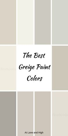 paint colors Gray is definitely the hottest neutral out there and today I am bringing you the best warm gray or greige paint colors that you should be using in your home. Warm Gray Paint, Best Neutral Paint Colors, Greige Paint Colors, Interior Paint Colors, Light Grey Paint Colors, Taupe Paint, Warm Grey Walls, Light Grey Walls, Warm Colors