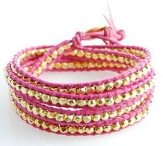 DIY $220 Wrap Bracelet for $5 | http://helloglow.co/how-to-220-bracelet-for-5/