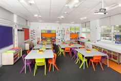 Classroom - Pictures courtesy of EME Furniture.  Designed by Bibi Interior Architecture  www.bibi-interiors.com